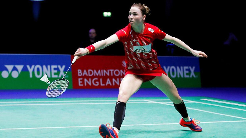 Line Kjærsfeldt er nummer 34 på kvindernes verdensrangliste i badminton.