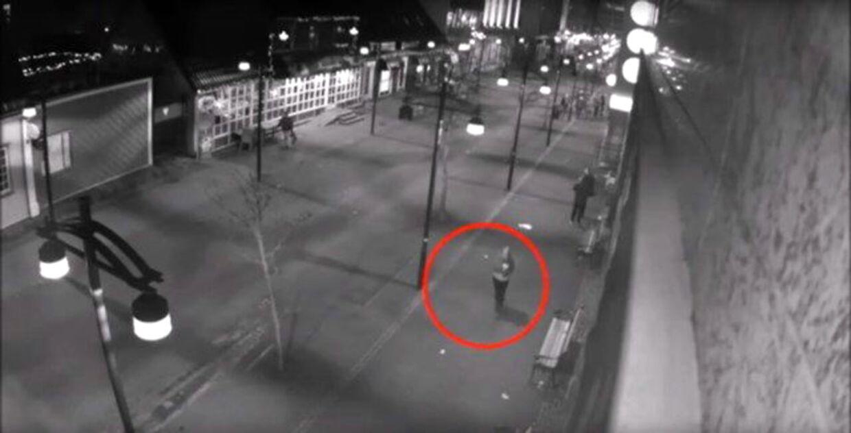 Overvågningsbilleder af Birna Brjansdottir fra den nat, hun forsvandt. Det var blandt andet overvågningen, der viste sig at være yderst brugbar for politiet i opklaringen af sagen.