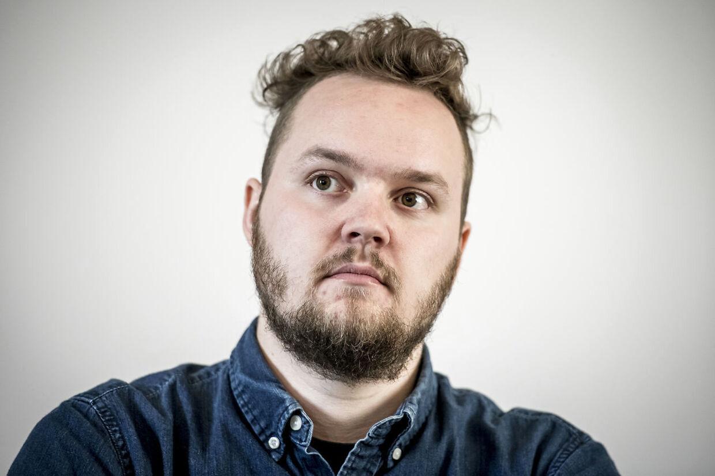 Carl Valentin fra SF deltager i debatmøde på Niels Brock i København, mandag den 13. maj 2019.. (Foto: Mads Claus Rasmussen/Ritzau Scanpix)