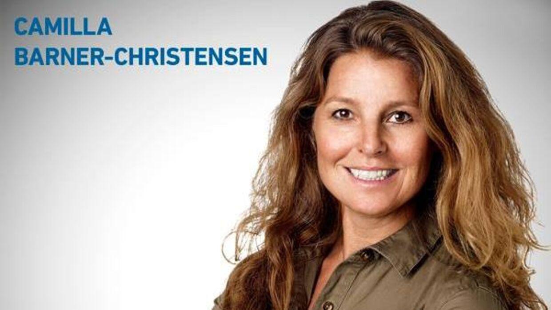 Mads Christensens kone, Camilla Barner-Christensen, har tidligere opstillet som politiker for Venstre i Rudersdal Kommune. (Pressefoto)