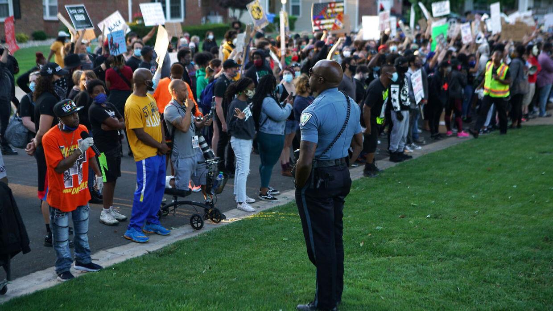 Black Lives Matter-bevægelsen er blusset op i USA efter drabet på George Floyd, som døde i forbindelse med en brutal anholdelse.