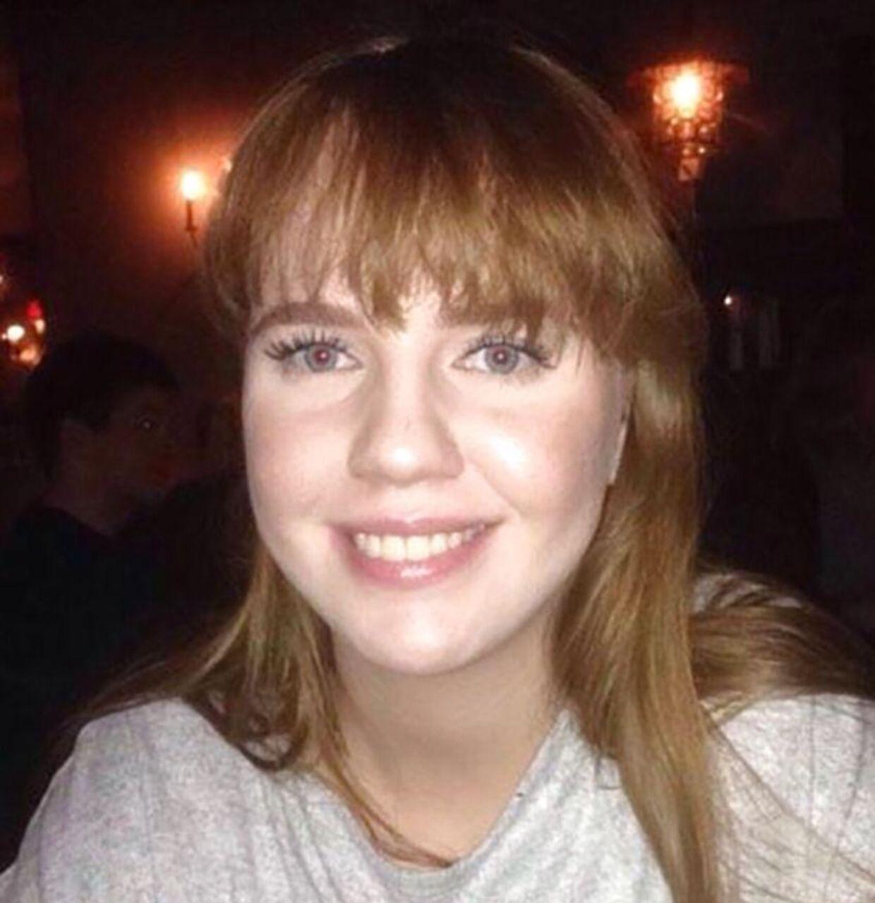 20-årige Birna Brjánsdóttir forsvandt efter en bytur i Reykjavik natten mellem 13. og 14. januar 2017. Der var flere ligheder mellem hendes forsvinden og sagen om Emilie Meng. Så mange ligheder, at dansk politi var i kontakt med islandsk politi og en overgang undersøgte, om gerningsmanden i de to sager kunne være den samme. Foto: Metropolitan Police / AFP