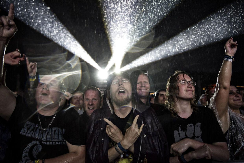 Copenhell 2016. Publikum til Scorpions.