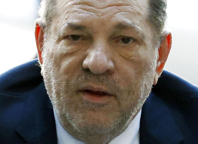 Filmproducer Harvey Weinstein som er blevet dømt for voldtægt.