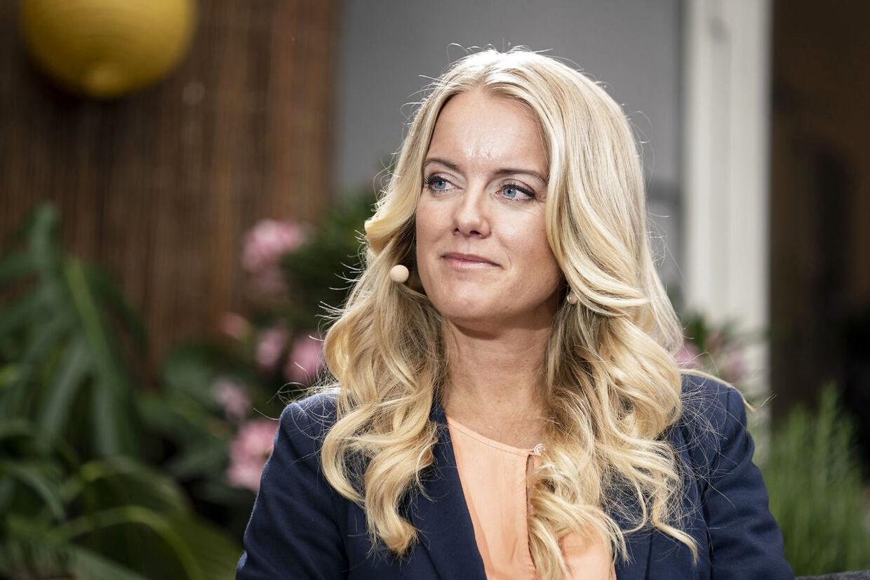 Partileder Pernille Vermund (NB).