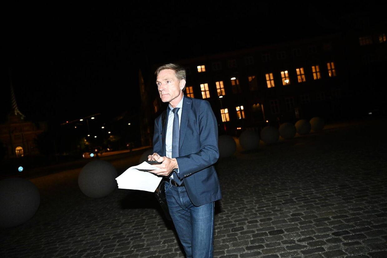 Dybt skuffet. Kristian Thulesen Dahl var ikke tilfreds med hjælpen til pensionister og forlod forhandlingerne.
