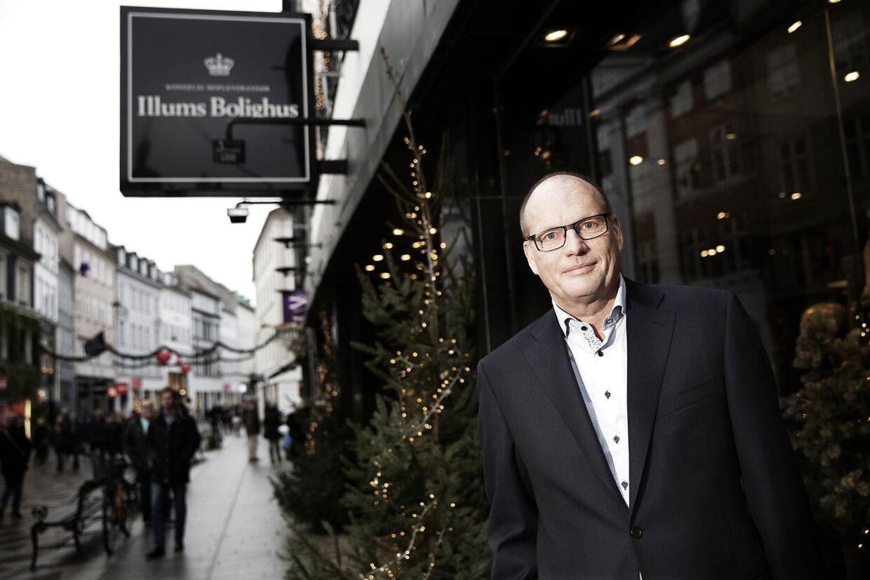 Direktøren for Illums Bolighus, Henrik Ypkendanz.