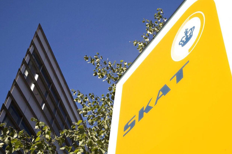 Der er nu rettet beskyldninger mod ansatte i Skat, som skulle have truet en virksomhed med rockere. Arkivfoto.