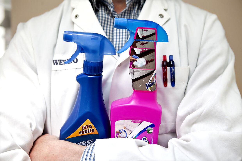 B.T. og rengøringsekspert Michael René guider dig til at få succes med pletfjerningen.