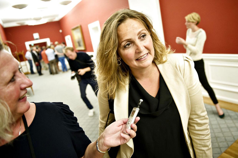 Eksport- og udenrigshandelminister Pia Olsen Dyhr. (Foto: Torkil Adsersen/Scanpix 2012).