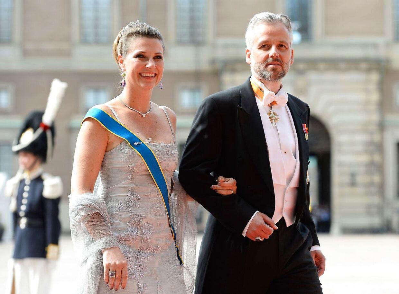 Prinsesse Märtha Louise og Ari Behn dengang de stadig var gift.