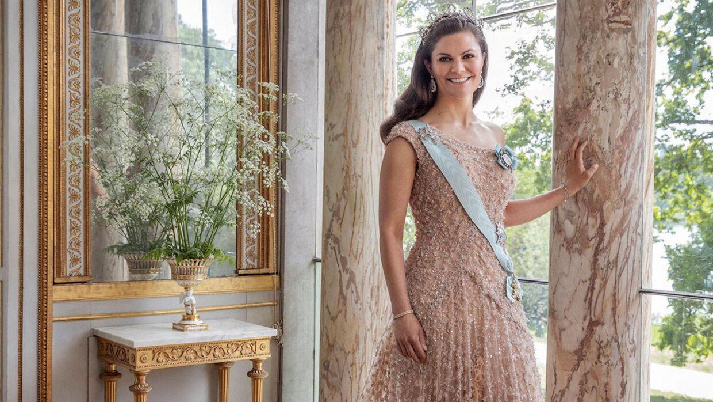 Kronprinsesse Victoria med frisuren, der får svenske medier til at reagere.