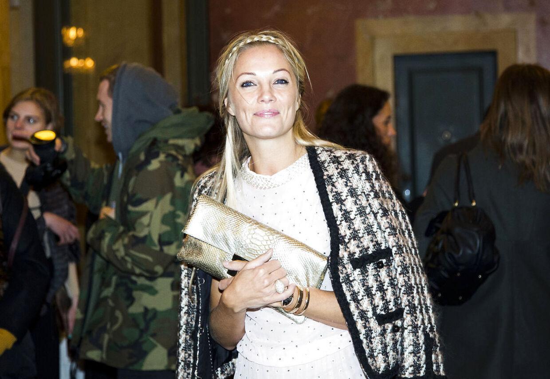 Malene Birger fashion show på Det Kongelige Terater d. 31.01.2013. Forretningen/brandet Malene Birger fylder 10 år. Baronessen Caroline Flemming