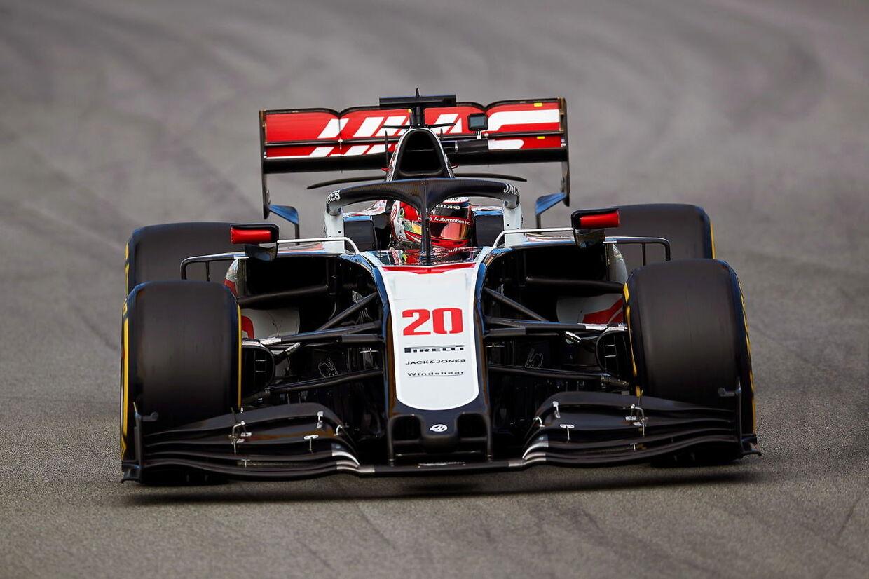 Kevin Magnussen har kørt en lille smule i denne sæson, her ved førsæson-testen i Barcelona.