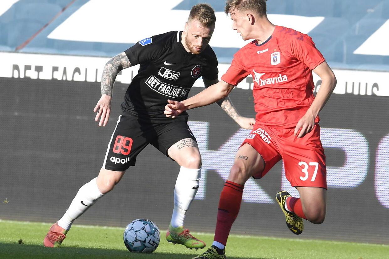 Superliga runde 29, FCM vs. AGF. Herning den 21.juni 2020.