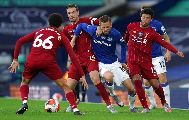 En ikke ophidsende nullert blev det til for Everton og Liverpool.