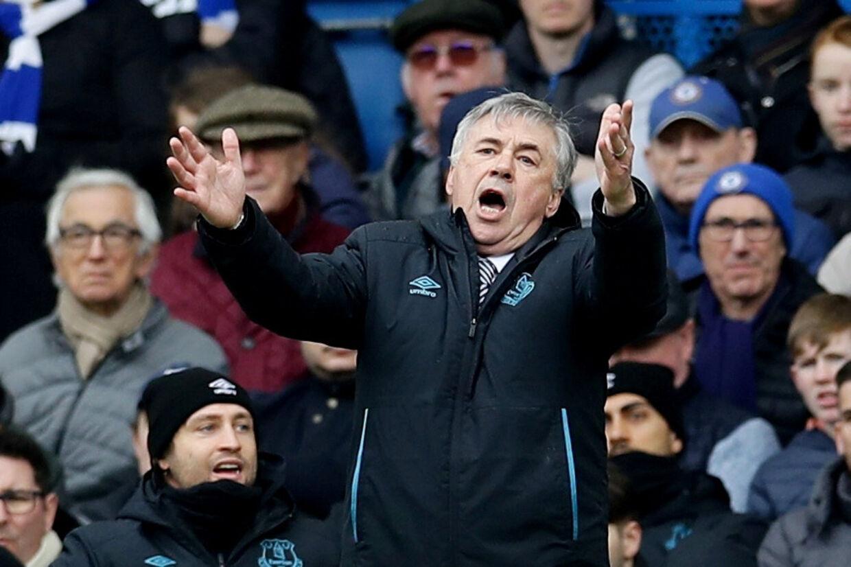 Carlo Ancelotti er i dag manager for Everton, som søndag spillede 0-0 mod Liverpool. (Arkivfoto) David Klein/Reuters