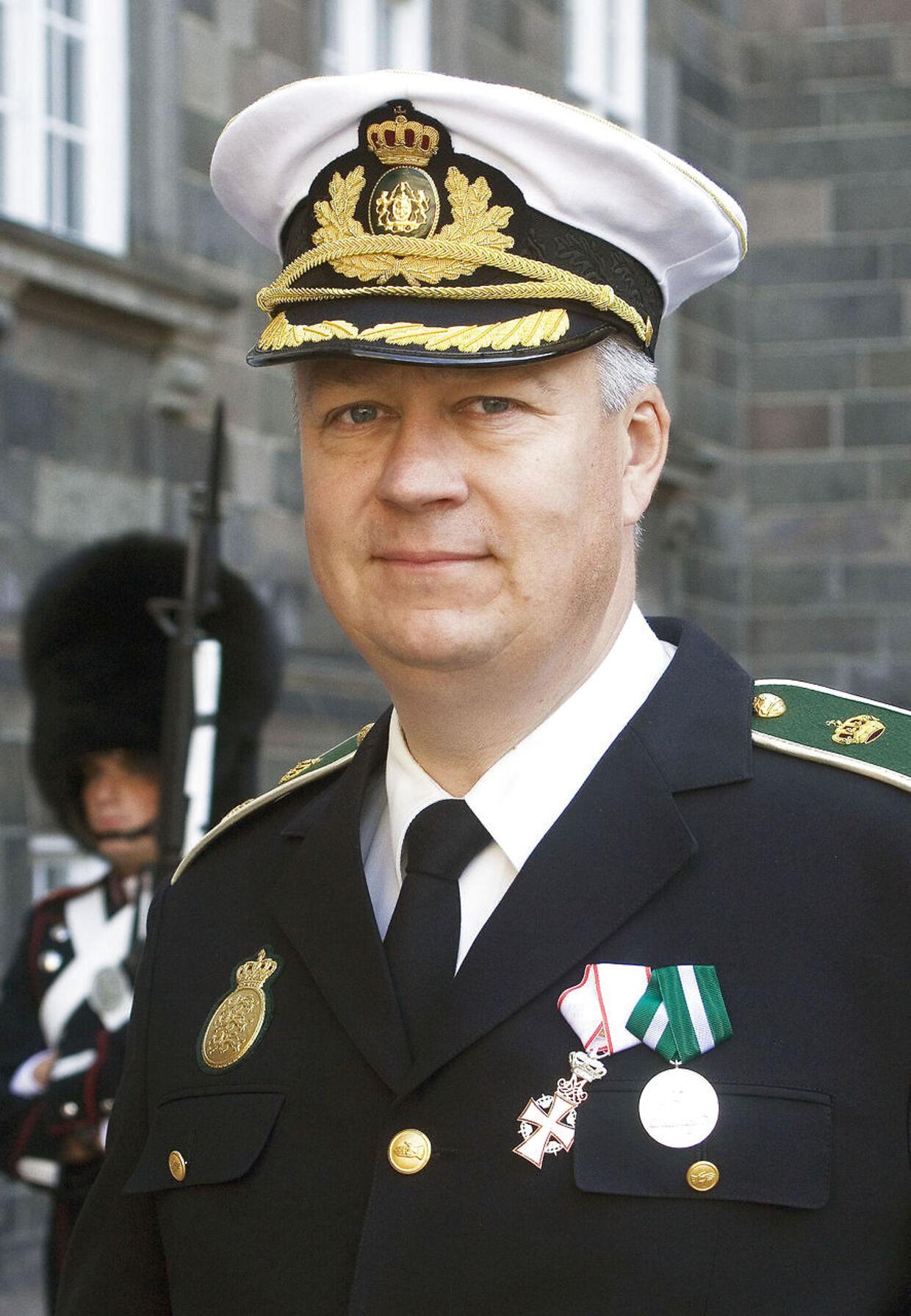 Fungerende politidirektør hos Sydsjællands og Lolland-Falsters Politi Lars Harvest.