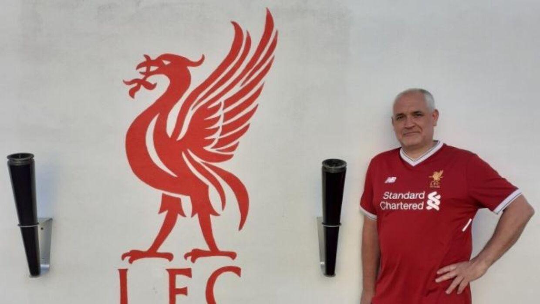 Kjeld Rinfeldt har været ude at se Liverpools Champions League-finaler i 2005, 2007, 2018 og 2019.