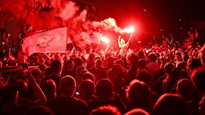 Mange Liverpool-fans fejrede mesterskabet sammen torsdag aften, og det har gjort mange sure.