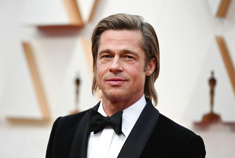 Skuespiller Brad Pitt.