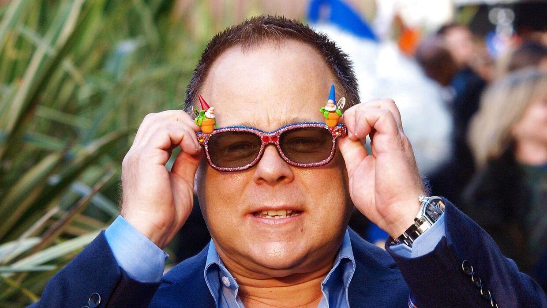 Kelly Asbury har blandt andet instrueret 'Gnoeo og Julie', som er er repræsenteret på hans briller.