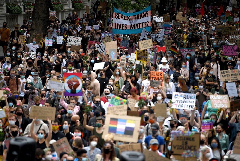 George Floyds død har ført til protester i store dele af USA og resten af verden.