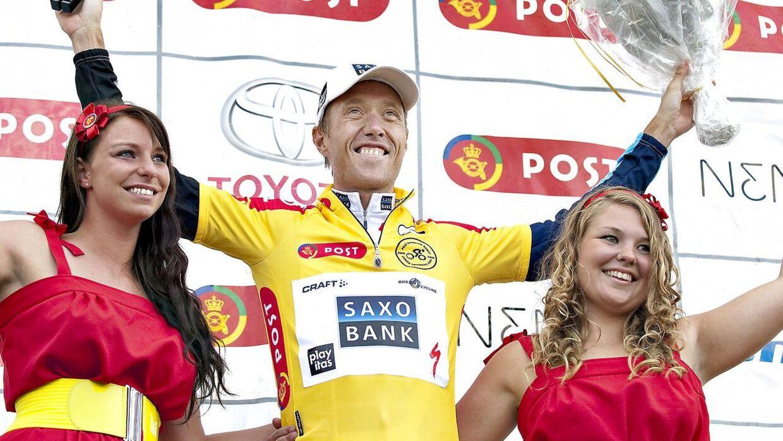Post Danmark Rundt 2009. 2.Etape, som Nicki Sørensen vandt.