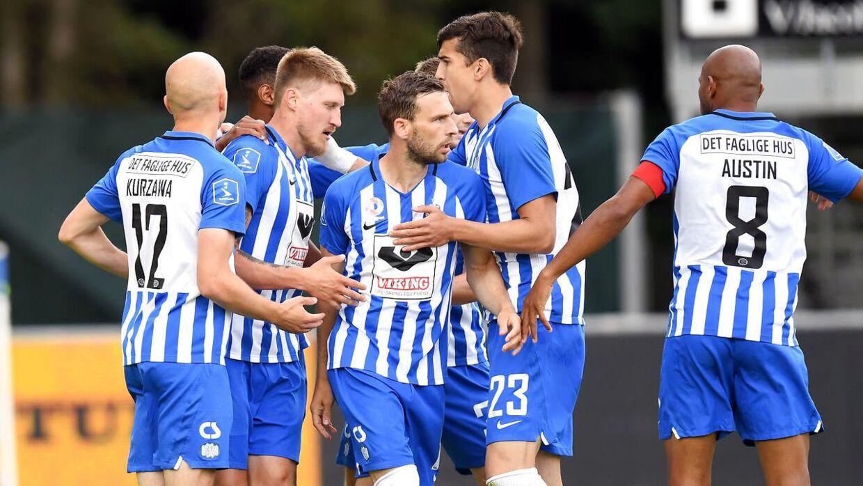 Esbjerg tabte 1-2 til Hobro og er dermed rykket ud af Superligaen.