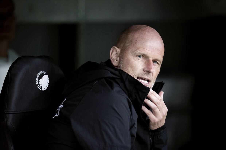 FCKs Cheftræner Ståle Solbakken før superligakampen mellem FC København - FC Midtjylland i Telia Parken, søndag den 28. juni 2020.