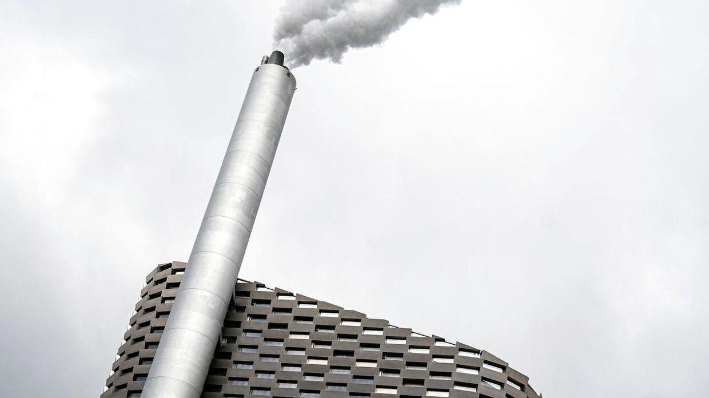 Forbrændingsanlægget Amager Ressourcecenter i København.