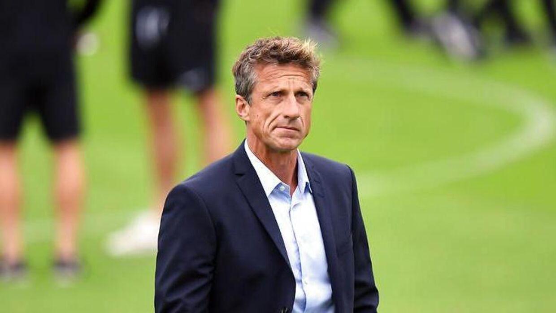 Troels Bech formåede ikke at redde Esbjerg fB fra nedrykning.