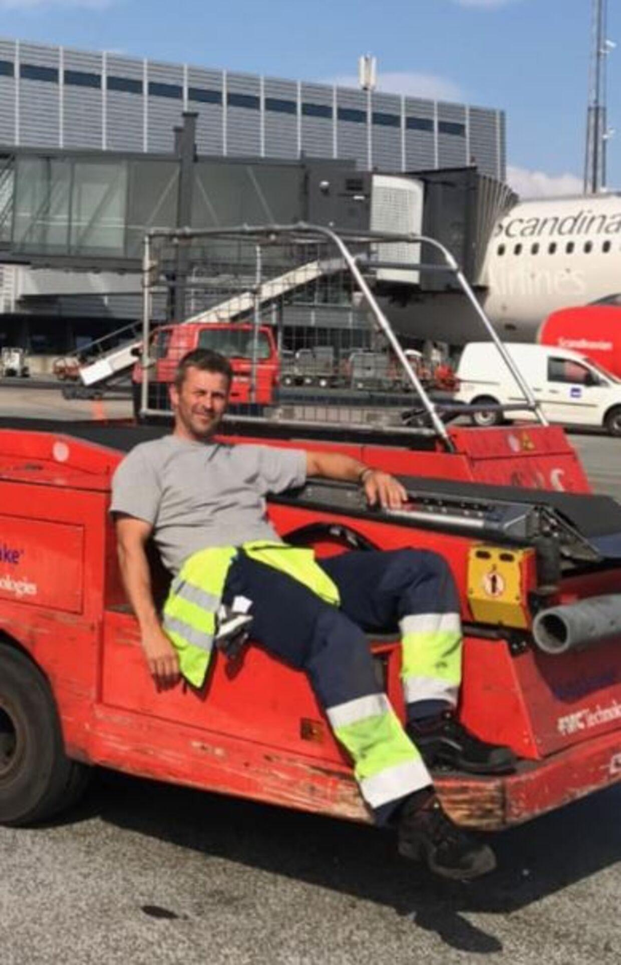 Paw Karslund nåede at arbejde 23 år i SAS, før en virus nedlagde hans arbejde.