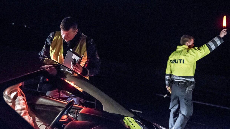 Færdselsindsats bragte Nordjyllands Politi 100 sager på bare to dage. (Foto: Mads Claus Rasmussen/Ritzau Scanpix)