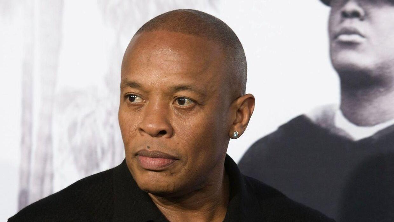 Dr. Dre står overfor at skulle skilles fra sin kone igennem 24 år - Nicole Young. (Arkivfoto)