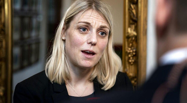 Forsvarsminister Trine Bramsen.
