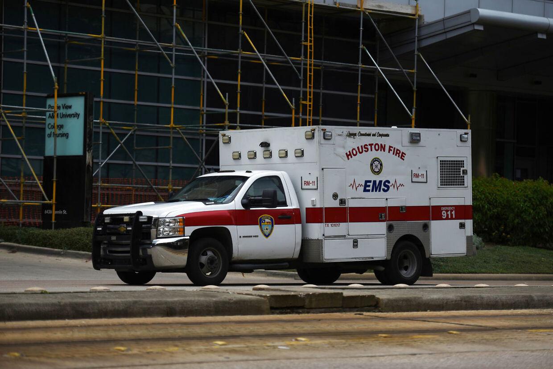 En ambulance. (Arkivfoto).