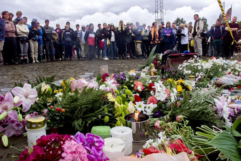 I alt ni mennesker blandt publikum under Pearl Jam-koncerten for 20 år siden mistede livet: tre danskere, tre svenskere, en tysker, en australier og en hollænder. (Arkivfoto). Nils Meilvang/Ritzau Scanpix