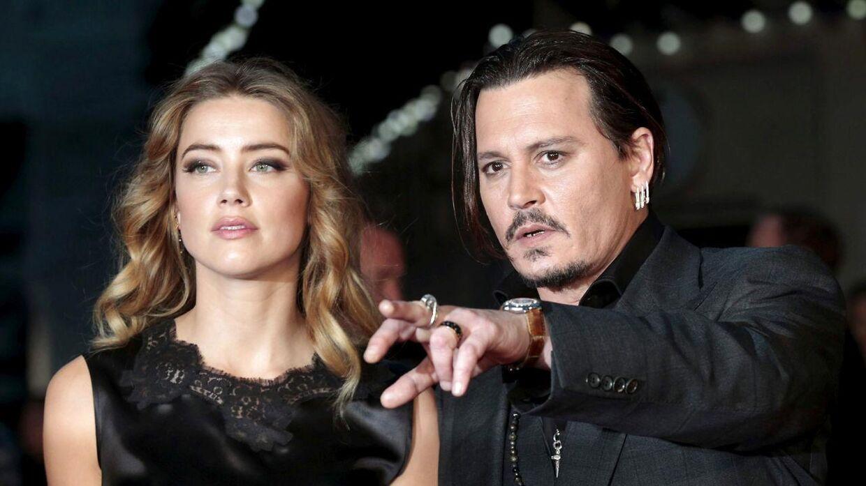 Arkivfoto af Johnny Depp og Amber Heard, da de stadig var et par.