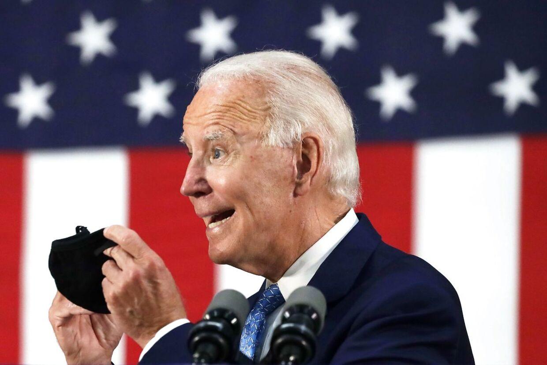 Joe Biden er 77 år.