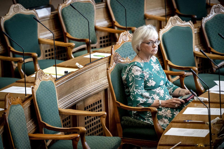 Eks-formanden Pia Kjærsgaard er i dag udlændingeordfører for Dansk Folkeparti. (Foto: Mads Claus Rasmussen/Ritzau Scanpix)