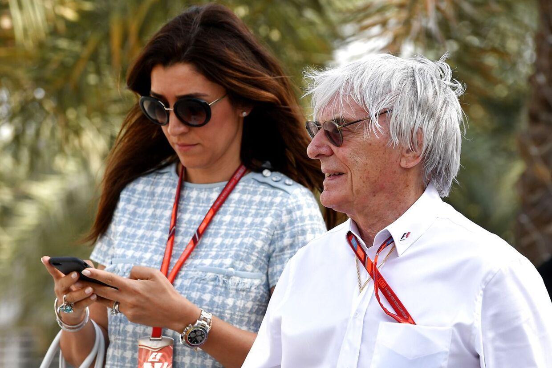 Bernie Ecclestone og Fabiana Flosi har været gift siden 2012.