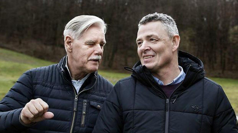 Bent Nyegaard og Thomas Kristensen har i mabnge år dækket dansk hold håndbold og har derigennem stiftet bekendtskab med Torben Væver.