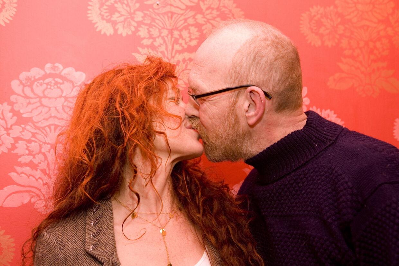 Mens lykken og kærligheden stadig var stor. Joan Ørting og Carsten Islington i 2006.