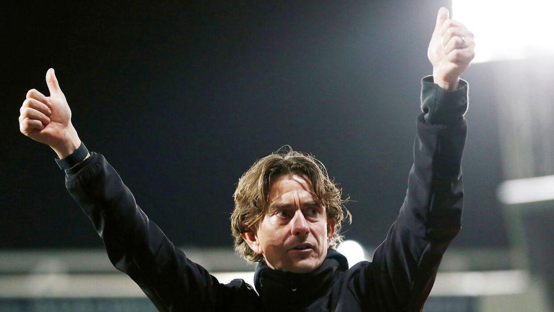 Thomas Frank har tidligere været cheftræner i Superliga-klubben Brøndby.