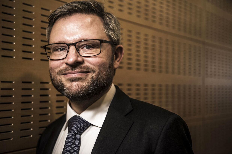 Cheføkonom hos Danske Bank Las Olsen.
