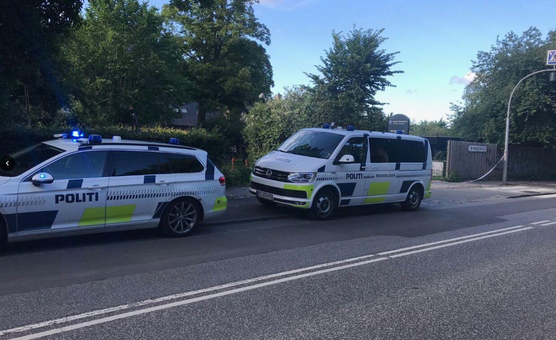 En ung kvinde blev voldsomt forbrændt i Lyngby torsdag aften.