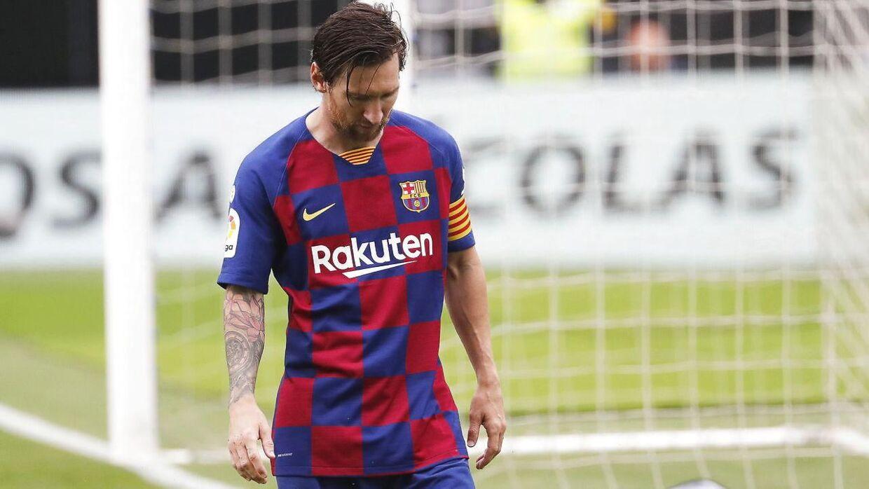 Lionel Messi har scoret 700 mål for Barcelona.