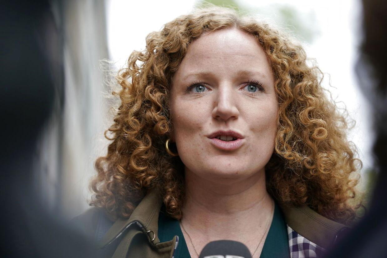 Rosa Lund fra Enhedslisten har før været vikar i Folketinget. I dag ligner hun partiets fremtid.