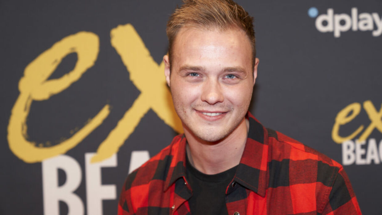 Mikkel til premierefest for fjerde sæson 'Ex on the Beach' (Foto: Janus Nielsen)